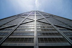 Hancock Building. The South Facade of the Hancock Building in Chicago, Illinois Royalty Free Stock Image