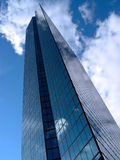 Hancock-Kontrollturm in den Wolken Stockfotografie