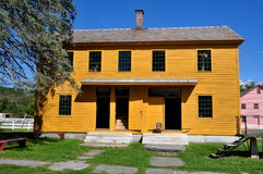 Hancock, MA: Shaker Village Box & Furniture Shop Royalty Free Stock Images