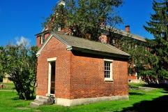 Hancock, MA: Shaker Village Ministry Wash House Stock Photos