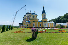 HANCU CHURCH. One of the most popular church in Moldova, church Hancu Stock Photos