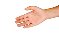 Hand. The helping hand (cooperativeness concept Royalty Free Stock Photos