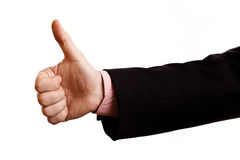Hand. A business person who is willing to make a deal Stock Photos