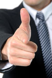 Hand. Talk Series - Thumbs Up Stock Image