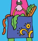 Hand&Bag illustration libre de droits