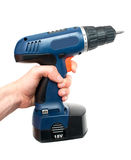 Hand And Drill Stock Images