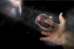 Hand And Mouse Stock Image