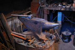 Hand anvil. hummers Royalty Free Stock Photos