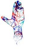 Hand art Royalty Free Stock Photo