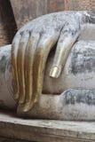 Hand av buddha Royaltyfri Foto