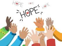 Hand av hopp - Royaltyfri Foto