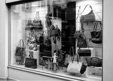 Hand Bag Shop Stock Photos