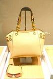 Hand bag Sun glass Royalty Free Stock Image
