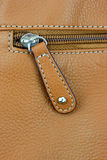Hand bag zipper Royalty Free Stock Photos