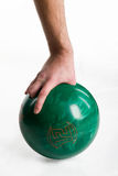 Hand With Ball Royalty Free Stock Photography