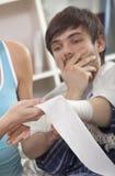 Hand bandage royalty free stock photo
