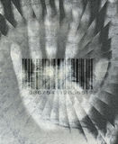 Hand Barcode. High-resolution illustration Hand Barcode design Royalty Free Stock Photography