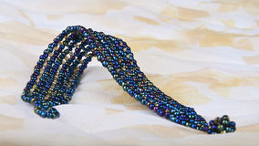 Hand beaded jewels Stock Images