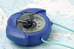 Hand Bearing Compass Royalty Free Stock Image