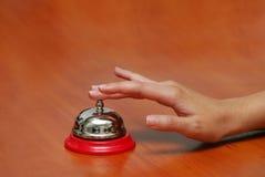 Hand-bell Fotos de archivo libres de regalías