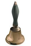 Hand bell. Stock Photography