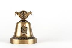 Hand Bell Die Andenken geholt aus anderem Land Stockbild