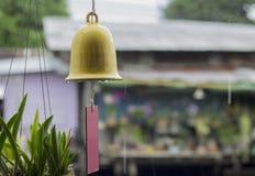 Hand bell  Stock Photo