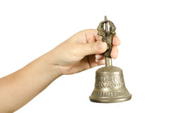Hand bell Royalty Free Stock Images