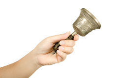 Hand bell Stock Photo
