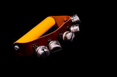 Hand bells musical instrument for ringing Stock Photo