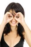 Hand binoculars Stock Image