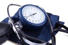 Hand bloeddruk medisch hulpmiddel royalty-vrije stock fotografie
