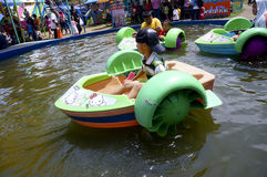 Hand boat Stock Images