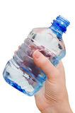 Hand with bottle of water Stock Photography
