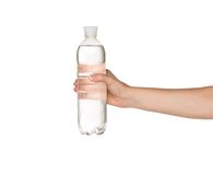 Hand with bottle of water Royalty Free Stock Photos