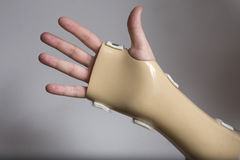 Hand brace Royalty Free Stock Photo