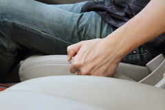 Hand brake Royalty Free Stock Photos