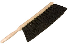 Hand broom brush Royalty Free Stock Images
