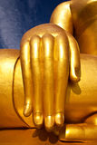 Hand of buddha Stock Photography