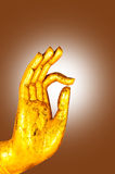 Hand of Buddha Royalty Free Stock Photos