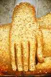 Hand of Buddha statue Stock Photography