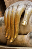 A hand of buddha statue Stock Photos