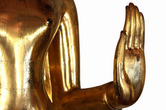 Hand Buddha Statue in Wat Pho Stock Photography