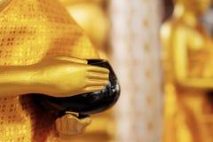 Hand Buddha von Almosen stockbilder