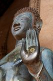 Hand of Budha. In temple Stock Image