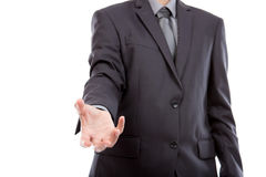 Hand of business man Royalty Free Stock Photos