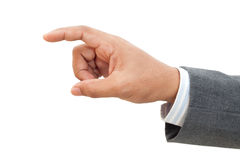 Hand of Business man Royalty Free Stock Photo