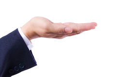 Hand of business man isolated Royalty Free Stock Image
