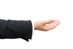 Hand of businessman. Royalty Free Stock Image