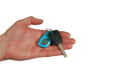 Hand Car Key Stock Photo